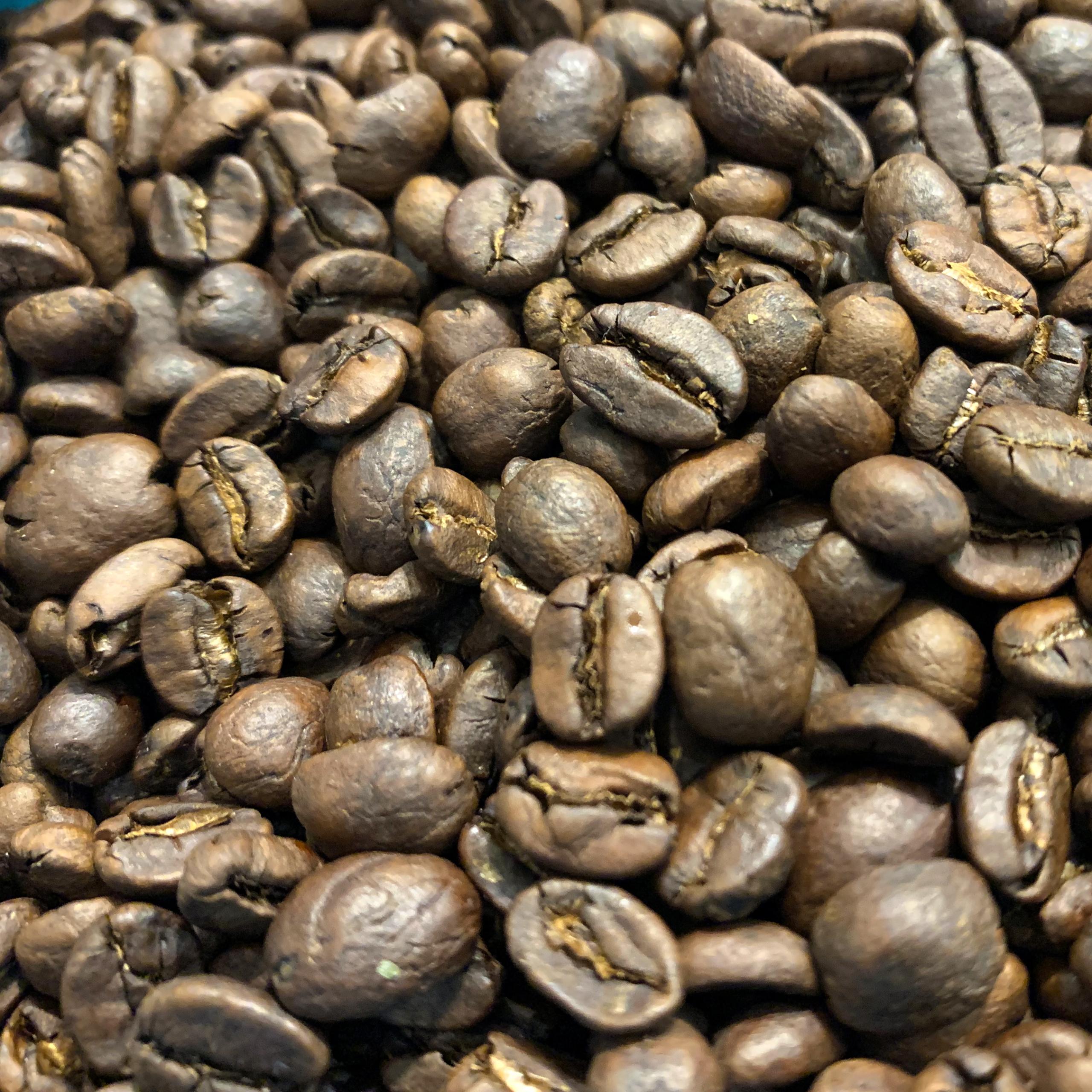 Grains de café torréfiés Mexique - déca