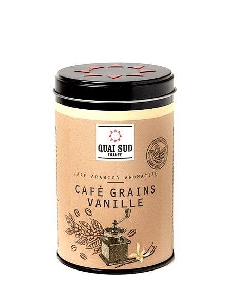 Boîte de café en grains aromatisé vanille